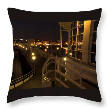 Leading Lights Throw Pillow by Hazy Apple