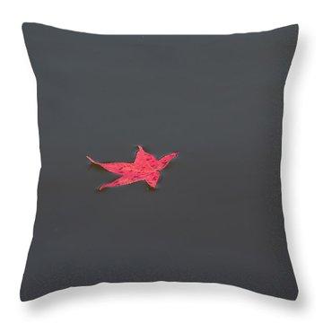 Leaf Alone Throw Pillow