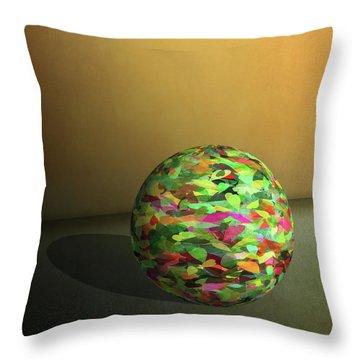 Leaf Ball -  Throw Pillow