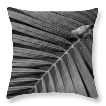Leaf On Leafs Throw Pillow