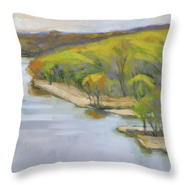 Leaf Out Throw Pillow