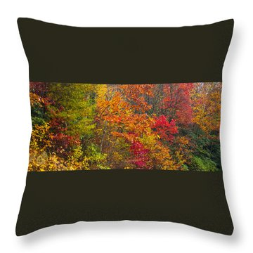 Leaf Tapestry Throw Pillow