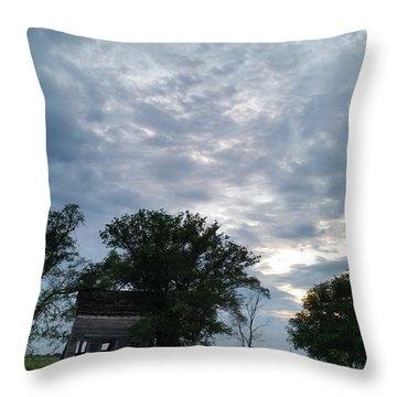 Lean Into It Throw Pillow by Caryl J Bohn