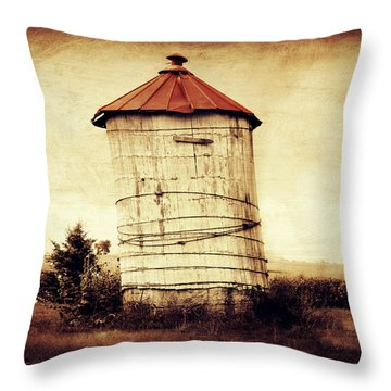 Leaning Tower Throw Pillow by Julie Hamilton