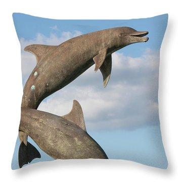 Leap For Joy Throw Pillow
