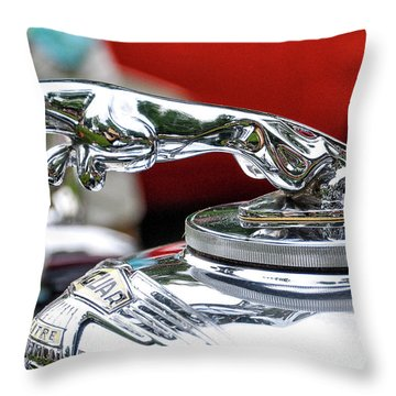 Leaper Throw Pillow