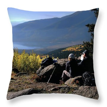 Throw Pillow featuring the photograph Learn To Be Still by Jim Hill