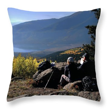 Learn To Be Still Throw Pillow