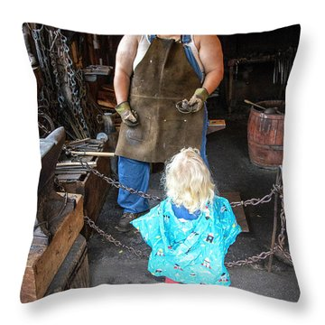 Learning About Metal Throw Pillow