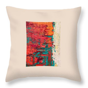 Learning Curve One Throw Pillow