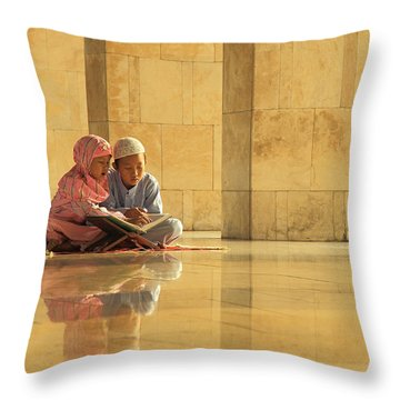 Learning Throw Pillows