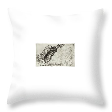 Learning To Love Rats More #1 Throw Pillow