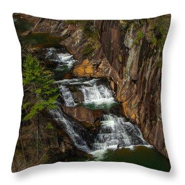 L'eau D'or Falls Throw Pillow