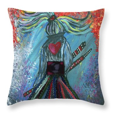 Leave It All Behind Throw Pillow