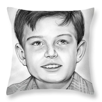 Leave It To Beaver Throw Pillow