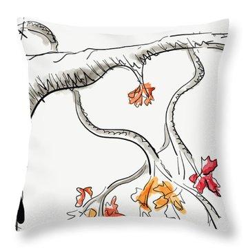 Leave Love Alone 1 Throw Pillow by Jason Nicholas