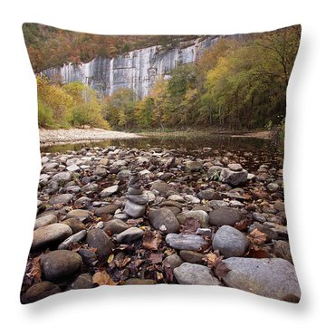 Leave No Trace Throw Pillow