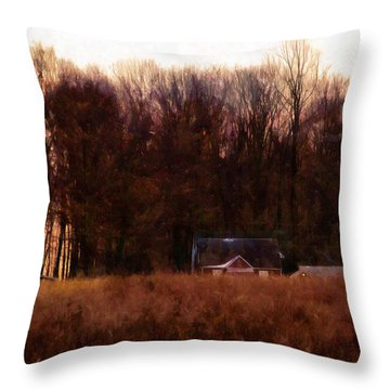 Leave The Light On For Me Throw Pillow