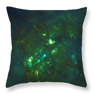 Leave The Past Behind Throw Pillow
