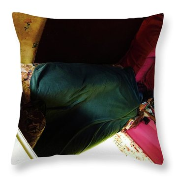 Leaving A Twisted Fate In An Aberrant World   Throw Pillow