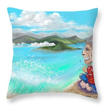 Leaving The Dream Throw Pillow