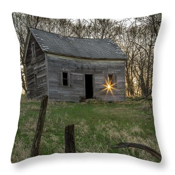 Leaving The Light On Throw Pillow