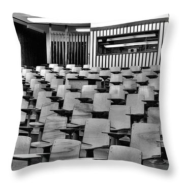 Lecture Hall At Ubc Throw Pillow