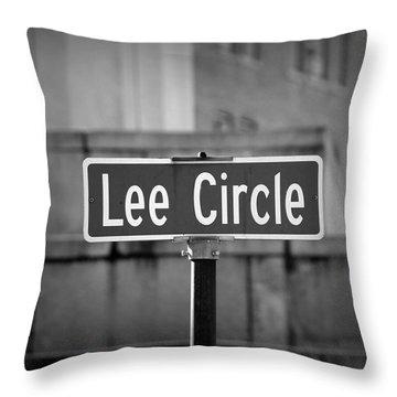 Lee Circle Throw Pillow