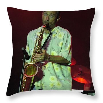 Lee Greenwood Throw Pillow by Mike Martin