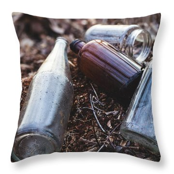 Throw Pillow featuring the photograph Left Behind by Andrew Pacheco