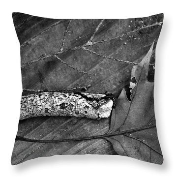Left Overs Throw Pillow