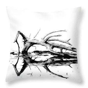 Left Throw Pillow