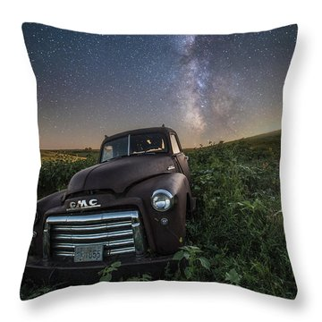 Throw Pillow featuring the photograph Left To Rust by Aaron J Groen