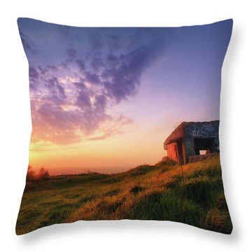 Legacy Of The Ancients Throw Pillow