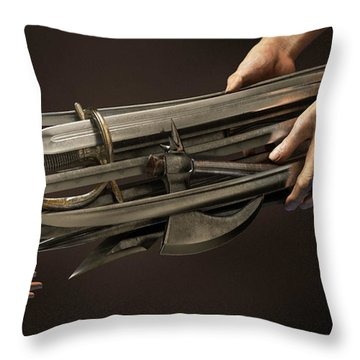 Legacy Throw Pillow by Vitaliy Gladkiy