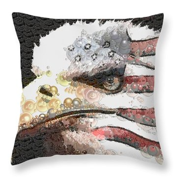 Legally Unlimited Eagle Throw Pillow