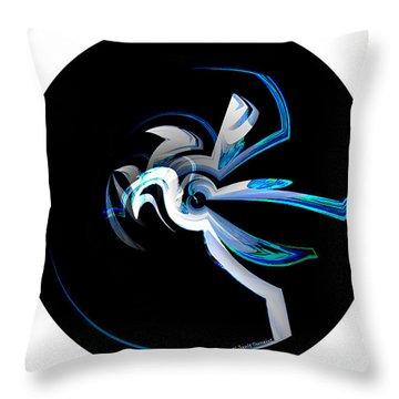 Legendary Horse Pegasus Throw Pillow by Thibault Toussaint