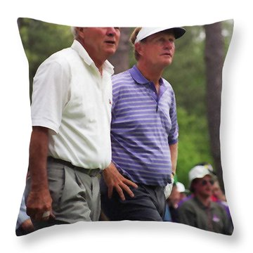 Legends Throw Pillow