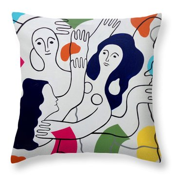 Leger Light And Loose Throw Pillow
