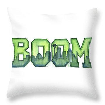 Legion Of Boom Throw Pillow