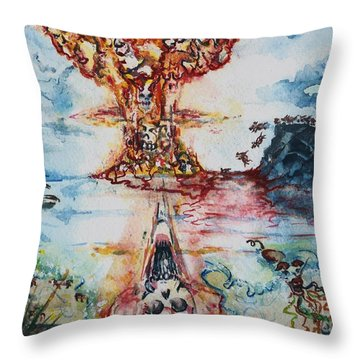 Legion Unleashed  Throw Pillow