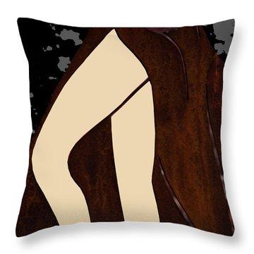 Legs Throw Pillow