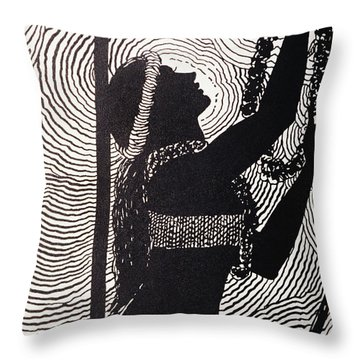 Lei Offering Throw Pillow by Hawaiian Legacy Archive - Printscapes