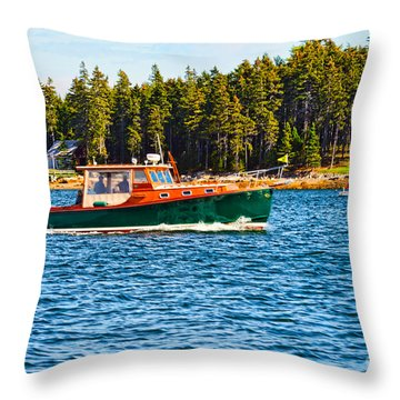 Throw Pillow featuring the photograph Leisure Time by Anthony Baatz