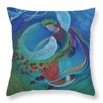 Kristine Izak Throw Pillows