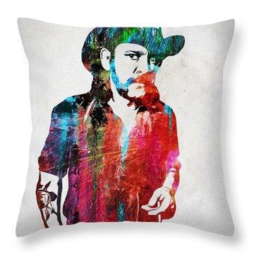 Lemmy Throw Pillows
