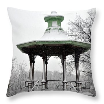 Lemon Hill Pavillion Throw Pillow
