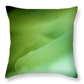 Throw Pillow featuring the photograph Lemon Lime Swirl by Christi Kraft