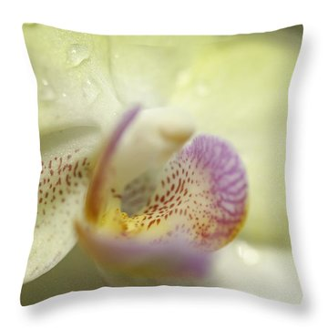 Lemon Lovlilness Throw Pillow