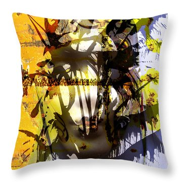 Lemon To Wounds  Throw Pillow
